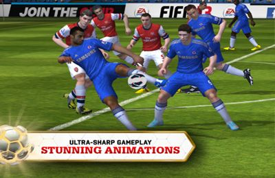 Free FIFA 13 by EA SPORTS download for iPhone, iPad and iPod.