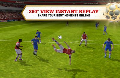 Screenshots vom Spiel FIFA 13 by EA SPORTS für iPhone, iPad oder iPod.