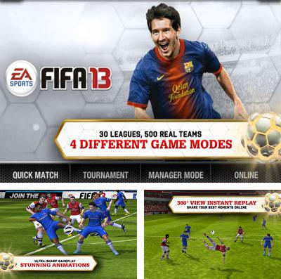 In addition to the game Chicken Racer for iPhone, iPad or iPod, you can also download FIFA 13 by EA SPORTS for free.