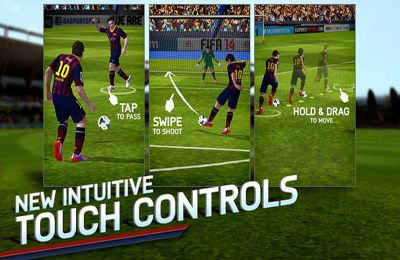 Descarga gratuita de FIFA 14 para iPhone, iPad y iPod.