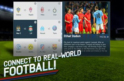 Screenshots do jogo FIFA 14 para iPhone, iPad ou iPod.