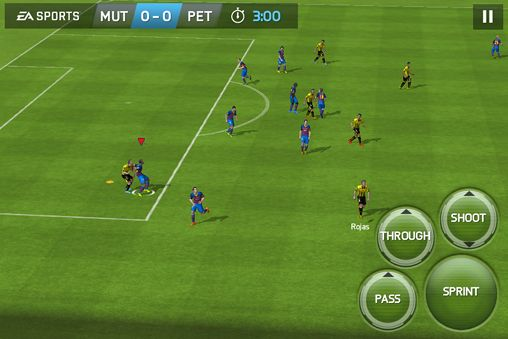 Screenshots do jogo FIFA 15: Ultimate team para iPhone, iPad ou iPod.