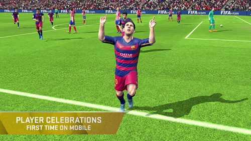 Screenshots of the FIFA 16: Ultimate team game for iPhone, iPad or iPod.