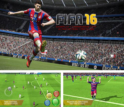 In addition to the game (R)evolve for iPhone, iPad or iPod, you can also download FIFA 16: Ultimate team for free.