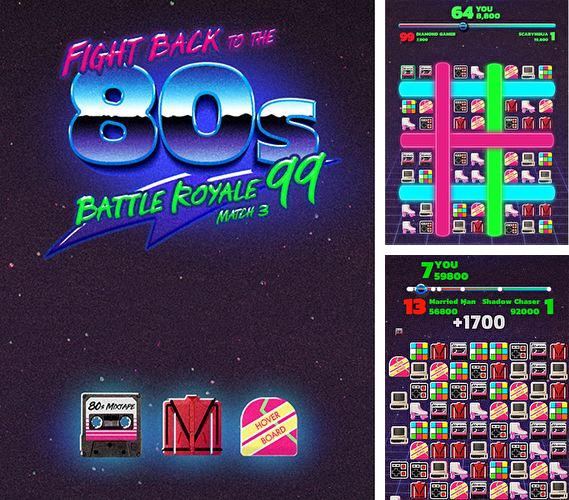 Baixe o jogo Fight back to the 80's: Match 3 battle royale para iPhone gratuitamente.