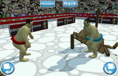 Capturas de pantalla del juego Fight Drunk 3D para iPhone, iPad o iPod.