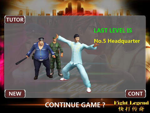 Screenshots do jogo Fight legend: Pro para iPhone, iPad ou iPod.