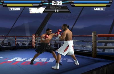 iPhone、iPad 或 iPod 版Fight Night Champion游戏截图。