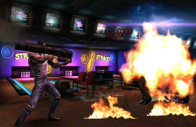 Screenshots of the Fightback game for iPhone, iPad or iPod.