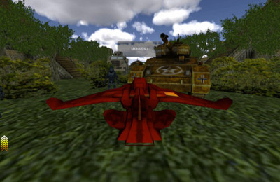 Screenshots of the Fighter Jet WW3D game for iPhone, iPad or iPod.