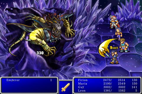 Download Final fantasy 2 iPhone free game.