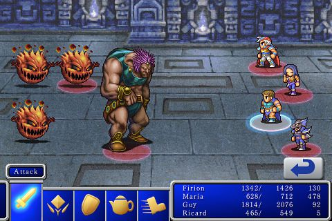 Free Final fantasy 2 download for iPhone, iPad and iPod.