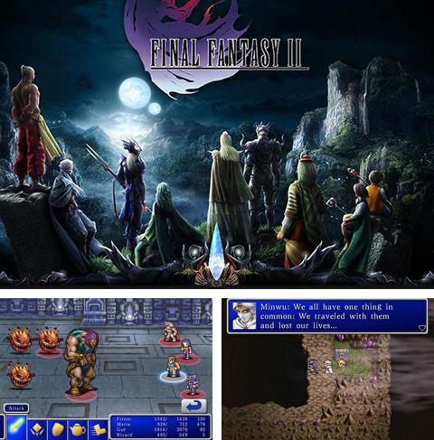 In addition to the game Horror Prank - Super Scary & FaceTime video recording of your victim ! for iPhone, iPad or iPod, you can also download Final fantasy 2 for free.