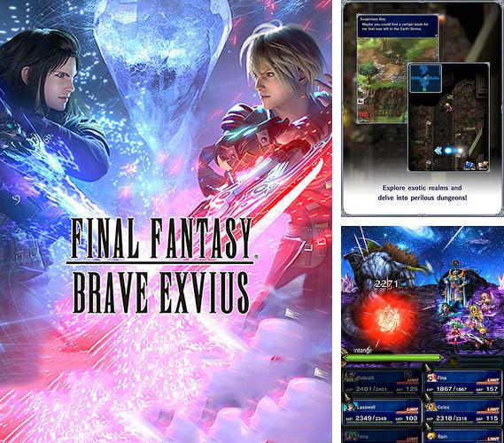 In addition to the game Ninja Revinja Multiplayer Run - Uber Hard Arcade Mega Dash for iPhone, iPad or iPod, you can also download Final fantasy: Brave Exvius for free.