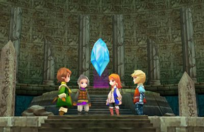 Capturas de pantalla del juego Final Fantasy III para iPhone, iPad o iPod.