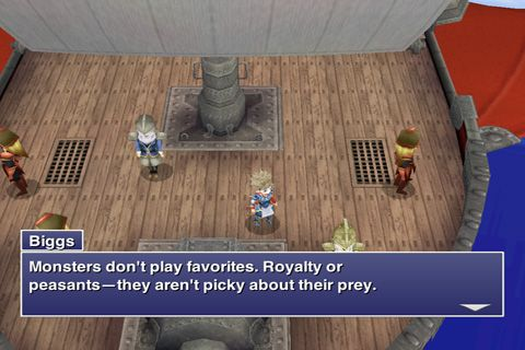 Screenshots vom Spiel Final Fantasy IV: The After Years für iPhone, iPad oder iPod.