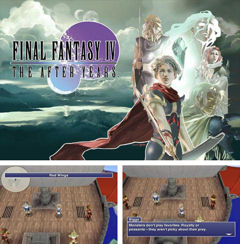 In addition to the game Happy Hills for iPhone, iPad or iPod, you can also download Final Fantasy IV: The After Years for free.
