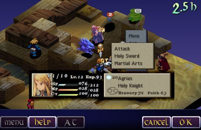 Free Final fantasy tactics: THE WAR OF THE LIONS download for iPhone, iPad and iPod.