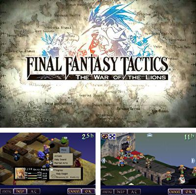 Download Final fantasy tactics: THE WAR OF THE LIONS iPhone free game.