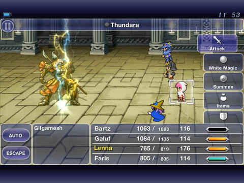 Download Final Fantasy V iPhone free game.