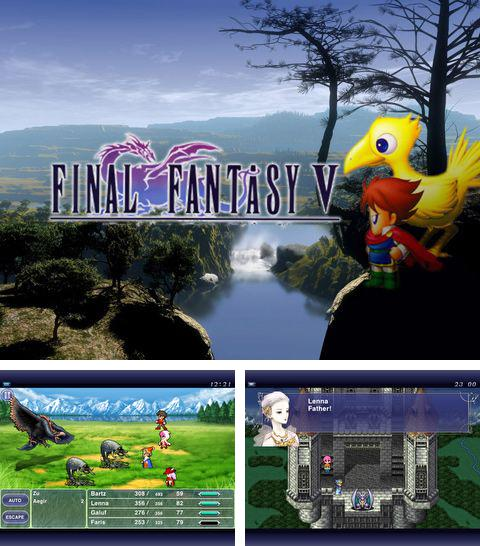 In addition to the game Club penguin: Sled racer for iPhone, iPad or iPod, you can also download Final Fantasy V for free.