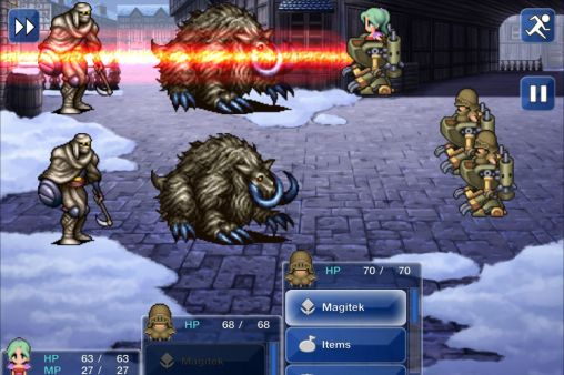 Download Final fantasy VI iPhone free game.