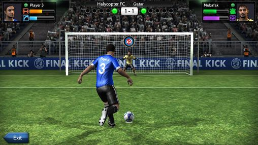 Скачати гру Final Kick: The best penalty shots game для iPad.