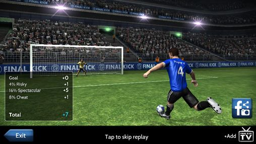 Гра Final Kick: The best penalty shots game для iPhone