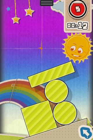 Capturas de pantalla del juego Finger physics para iPhone, iPad o iPod.