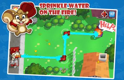 Screenshots of the Fire Busters game for iPhone, iPad or iPod.