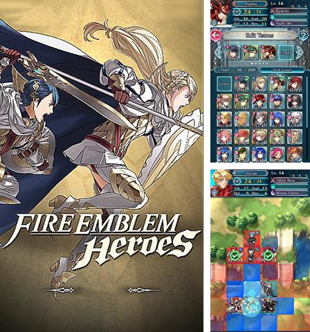 In addition to the game Mantera - The Sacred Path for iPhone, iPad or iPod, you can also download Fire emblem heroes for free.