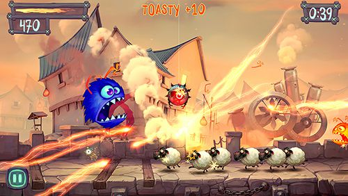 Download Fire Fu iPhone free game.