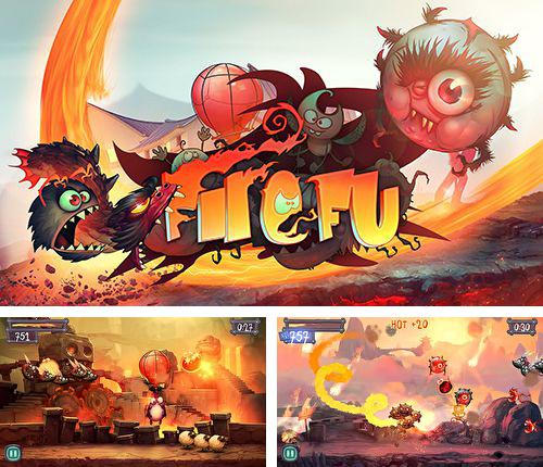 In addition to the game Carnivores: Ice Age for iPhone, iPad or iPod, you can also download Fire Fu for free.