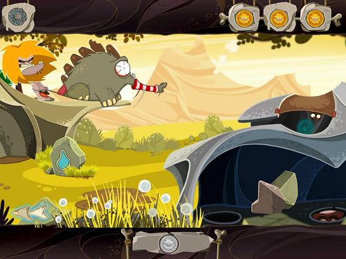 Screenshots of the Fire: Ungh's quest game for iPhone, iPad or iPod.