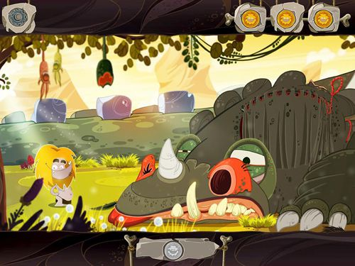 Capturas de pantalla del juego Fire: Ungh's quest para iPhone, iPad o iPod.