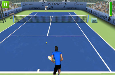 Screenshots vom Spiel First Person Tennis 2 für iPhone, iPad oder iPod.