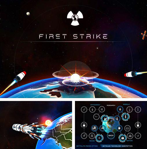 In addition to the game Motordrive city for iPhone, iPad or iPod, you can also download First strike for free.