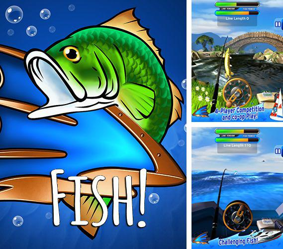 In addition to the game Ninja: Blocks for iPhone, iPad or iPod, you can also download Fish! for free.