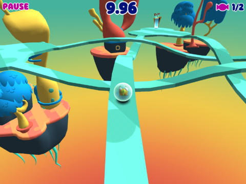 Fish bowl roll iPhone game - free  Download ipa for iPad,iPhone,iPod