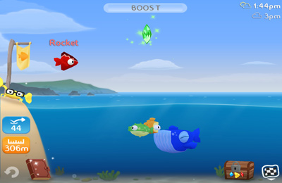 Download Fish Out Of Water! iPhone free game.