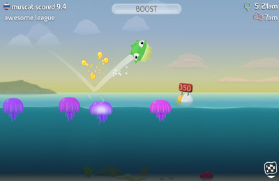 Kostenloser Download von Fish Out Of Water! für iPhone, iPad und iPod.