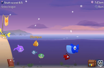 Screenshots vom Spiel Fish Out Of Water! für iPhone, iPad oder iPod.