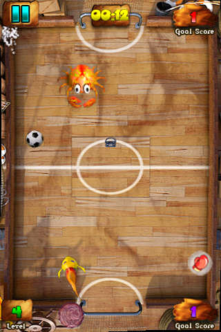 Descarga gratuita de Fish soccer: Shootout para iPhone, iPad y iPod.
