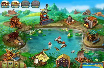 Screenshots vom Spiel Fisher's Family Farm für iPhone, iPad oder iPod.