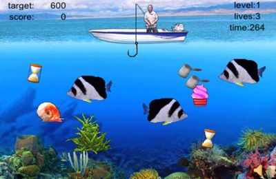 iPhone、iPad 或 iPod 版Fishing Champion游戏截图。