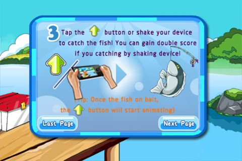 Download Fishing fun iPhone free game.