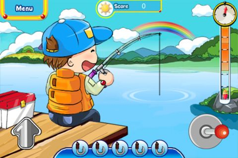 Descarga gratuita de Fishing fun para iPhone, iPad y iPod.