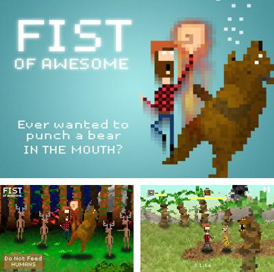 In addition to the game Pocket Fighter for iPhone, iPad or iPod, you can also download Fist of Awesome for free.