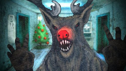 Screenshots of the Five nights at Christmas game for iPhone, iPad or iPod.