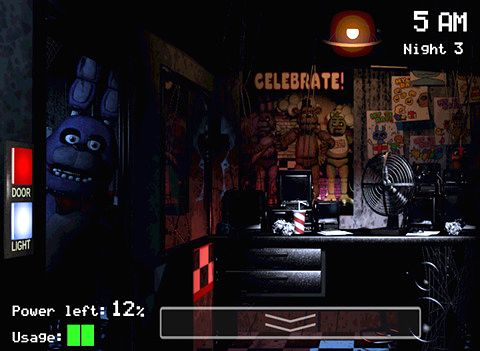 Kostenloser Download von Five nights at Freddy's für iPhone, iPad und iPod.